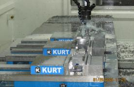CNC Milling Machine in operation